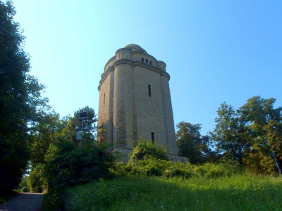 001-Start in die Hiwweltour am Bismarckturm